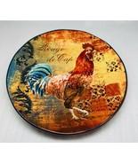 "Certified International Rooster Rustic ""Rouge de Cap"" Dinner Plate 11 1/... - $25.73"