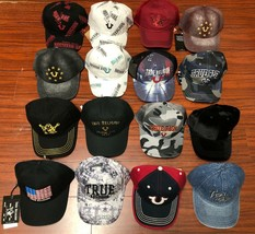 Wholesale Lot True Religion Men's Premium Adjustable Baseball Trucker Hat image 2