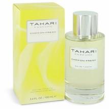 Chiffon Fresh by Tahari Parfums Eau De Toilette Spray 3.4 oz (Women) - $31.42