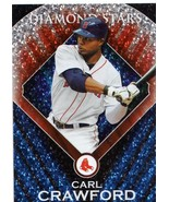 2011 Topps Diamond Star Carl Crawford Boston Red Sox / Rays - $2.00