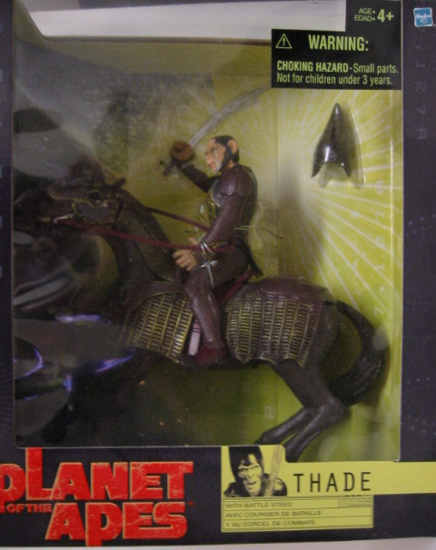 Thade  With Battle Steed Planet of the Apes Action Figure
