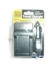 NIP*Premium Tech PT-61 AC/DC Travel Battery Charger for Panasonic DMW-BMB9 S-68 - $8.79