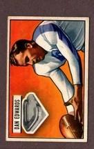 1951 Bowman Football #43 Dan Edwards CARD- New York YANKS.1 - $14.80