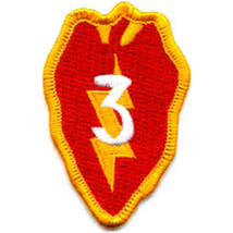 US Army 3rd Brigade 25th Infantry Division Military Patch  - $11.87