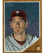 2011 Topps Heritage Chrome Cliff Lee #d/1962 Phillies - $3.00