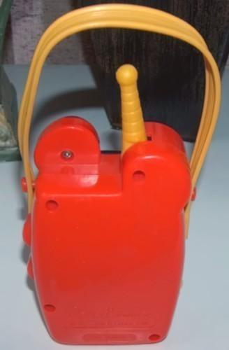 Vintage Mickey Mouse Musical Windup Music Box Radio