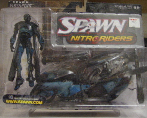 Flashpoint Nitro Riders  Action Figure