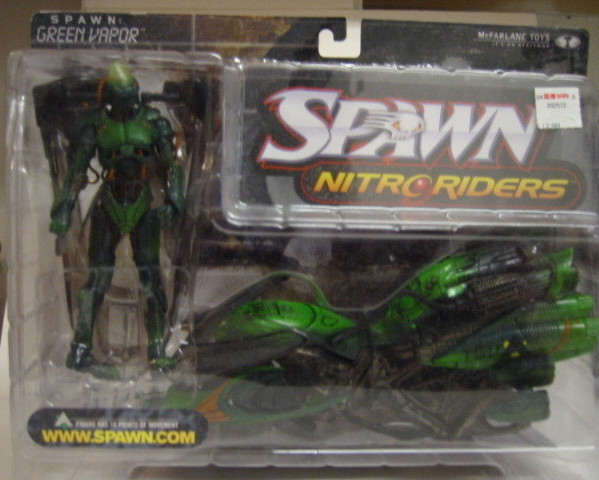 Primary image for Green Vapor Nitro Riders  Action Figure