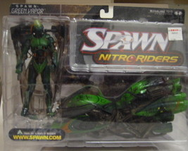 Green Vapor Nitro Riders  Action Figure - $23.00