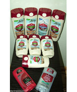 8 OLD SPICE MENS BODY WASHES, 2 SCENTS +2 BONUSES   - $34.99