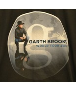 Garth Brooks Concert World Tour 2014 T-Shirt Chicago Atlanta Jacksonvill... - $13.79