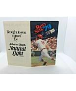 1979 Boston Red Sox Baseball Schedule Carl Yastrzemski Cover Anheuser Busch - $6.44