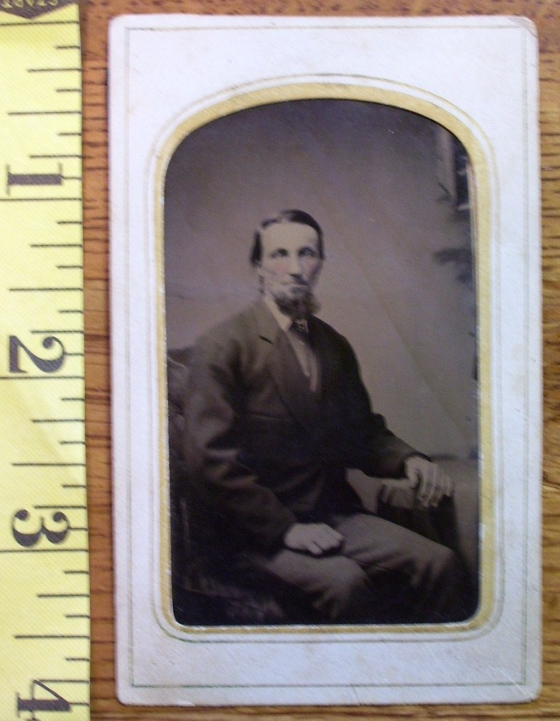 Bearded gent seated  1