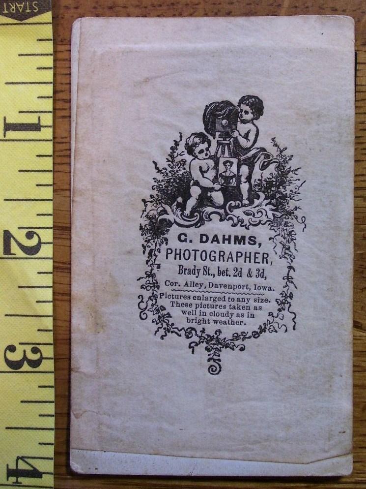 Tintype Photo Man w/Goatee Framed Graphics! c.1865-80!