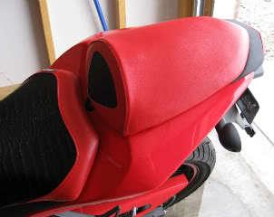 08-11 Ninja 250 Solo Line Rear Sport Bike Motorcycle Seat Cover