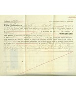 CIVIL WAR Michigan Soldier Disabled in War  STA... - $25.00