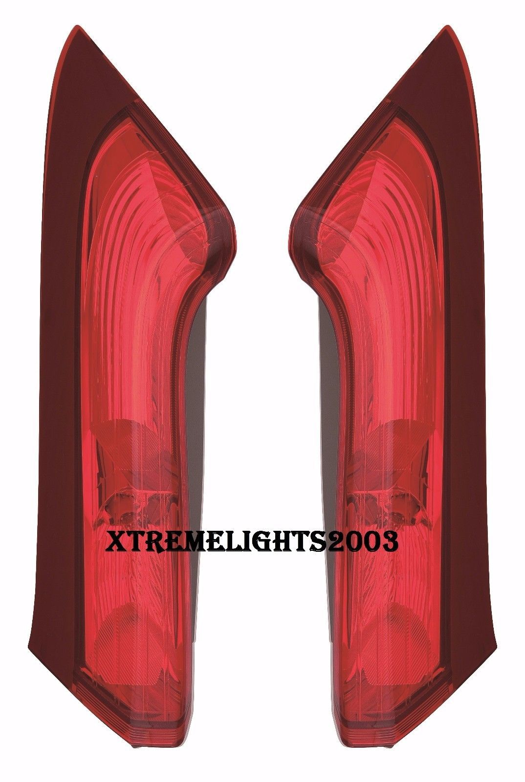 HONDA CRV CR-V 2015 2016 RIGHT LEFT UPPER TAILLIGHTS TAIL LIGHTS REAR LAMPS PAIR