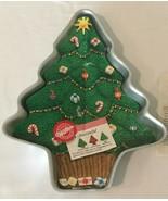Wilton Aluminum Cake Pan Mold Treeliteful #502-1107 Retired Christmas Tree  - $9.99