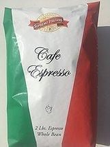 Supremo Italiano Cafe Espresso Whole Bean Coffee 2 Lb (8 Pack) - $117.37