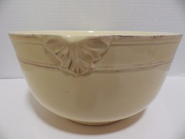 Enesco Country Gate Yellow Cream Extra Large Mixing Salad Serving Bowl - $29.69