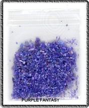 Tiny Sea Shell Flakes New  Purple Fantasy  Color - $2.99