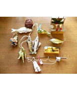 Fishing Lodge Decor Ornaments Collection ~ Lot of 10 - $24.98