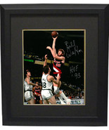 Bill Walton signed Portland Trail Blazers 8x10 Photo Custom Framed HOF 93 - $88.95