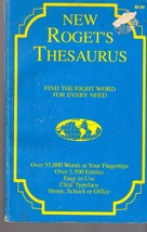 Roget's Thesaurus  - $3.00