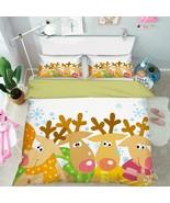 3D Christmas  Xmas 01 Bed Pillowcases Quilt Duvet Cover Set Single Queen... - $90.76