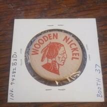 1965 duncannon Pennsylvania Wooden Nickel Souvenir Token PA - $13.21
