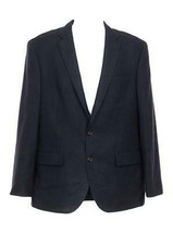 J Crew Men's Crosby Wool Suit Jacket Blazer Two Button Double Vent 40R Navy - $137.99