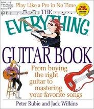 Everything Guitar Book (Everything Series) [Oct 01, 2001] Rubie, Peter - $17.77