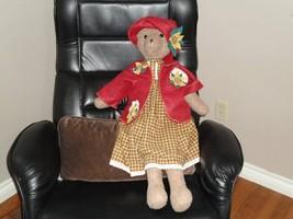 OOAK CANADA Artist Handmade Humpback Woolen Bear 34 in. - $241.70