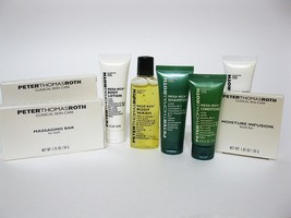 LOT 8 Peter Thomas Roth Hilton Travel sz Bath Body Essentials  Travel Gym - $14.48