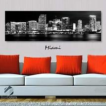 Original by BoxColors Single panel 3 Size Options Art Canvas Print Miami... - $59.00