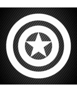car00472| Decal  Captain America - $3.25+