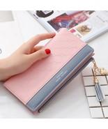 Luxury Leather Wallet Women Card Holder Zipper Phone Pocket Ladies Purse... - $15.79