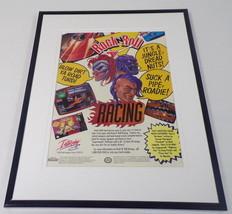 Rock N Roll Racing 1993 SNES 11x14 Framed ORIGINAL Advertisement  - $22.55