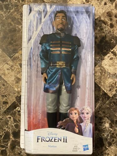 Primary image for Disney Frozen 2 Mattias Fashion Doll Removable Shirt Hasbro Ages 3+ Frozen II