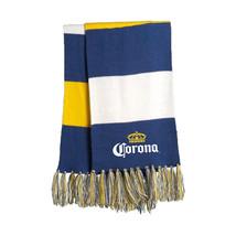 Corona Striped Spectator Scarf Blue - $28.98