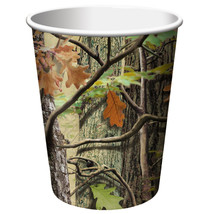 Hunting Camo 9 oz Hot/Cold Cups/Case of 96 - $37.94