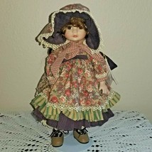 Vintage Marie Osmond Calico Cathy Quilting Cousins Porcelain Doll - $13.86