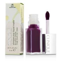 Clinique Pop Liquid Matte Lip Colour Color Primer Lipstick Gloss Black L... - $16.99