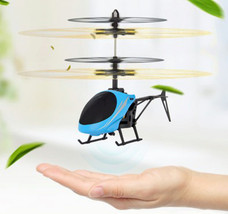 Mini RC drone Flying RC Helicopter Aircraft dron Infrared Induction LED Light Re - $8.44