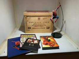 Extremely Rare! Marvel Spiderman French DVD Collectors Edition with LE Statue - $742.50