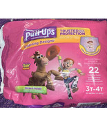 NEW Pull-Ups Training Disney Toy Story & minnie 14 leFt; stickers inside - $11.23