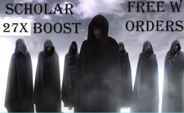FREE W ORDERS FRI-SUN 7 SCHOLARS WILL 27X EXTRA BOOST ALL MAGICK & MAGIC... - $0.00