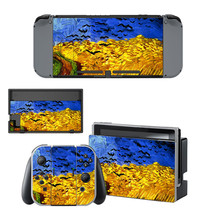 Vincent van gogh paintaing decal for Nintendo switch console sticker skin - $15.00