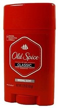 Old Spice Classic Deodorant Stick Original Scent 2.25 ounces Pack of 3 - $14.19