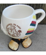 Bahama Islands Body w Feet Mug Cup Vintage - $20.00